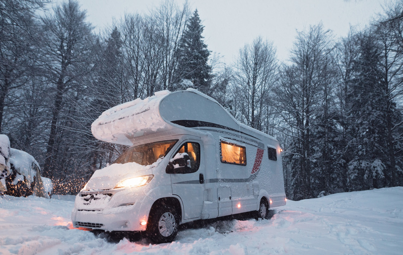 Winterizing An RV For Winter Snow