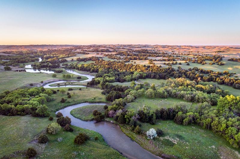 National and scenic rivers in Nebraska