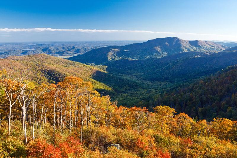 rv campingi n Shenandoah national park