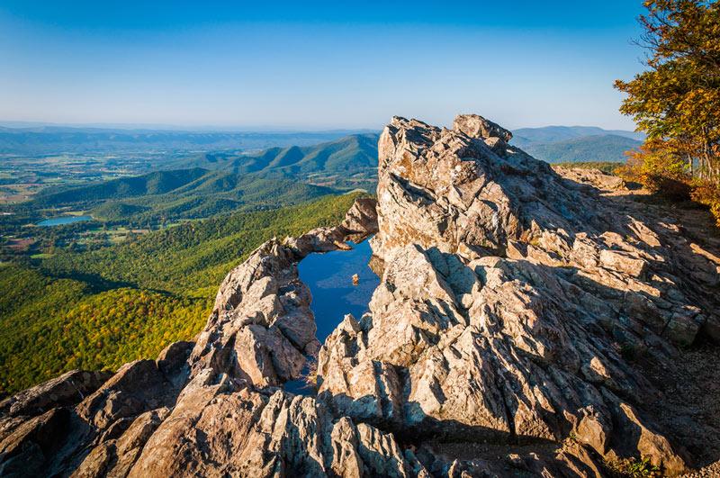 summit at shenandoah national park
