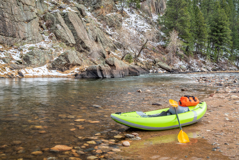 short and lightweight kayak for small paddlers
