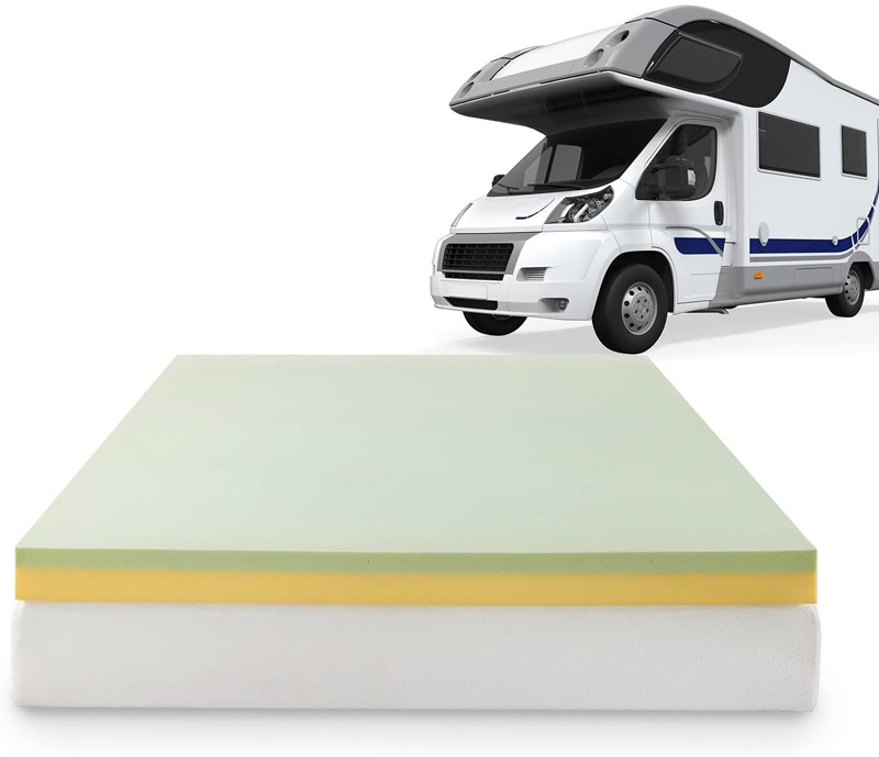 camper rv mattress topper