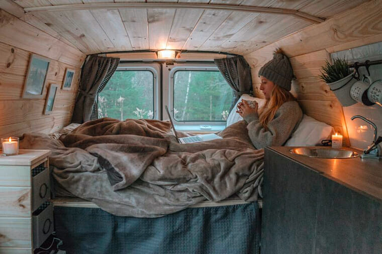 Build A Custom Interior In A Standard Height Campervan Conversion