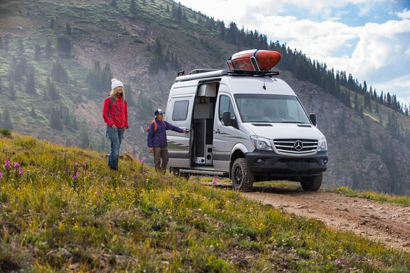 Camping In A Small Class B Rv