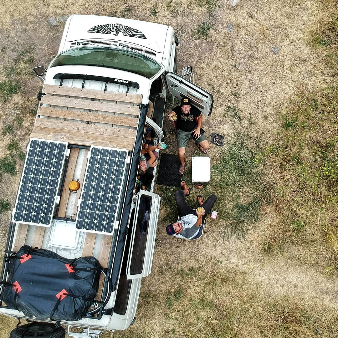 adding diy solar panels to a camper van conversion