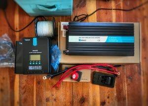 Solar Power System 12v Inverter For A Camper Van Conversion Or RV
