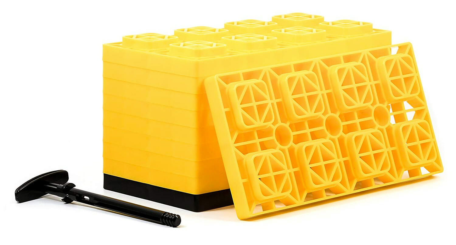 stackable camper leveling blocks