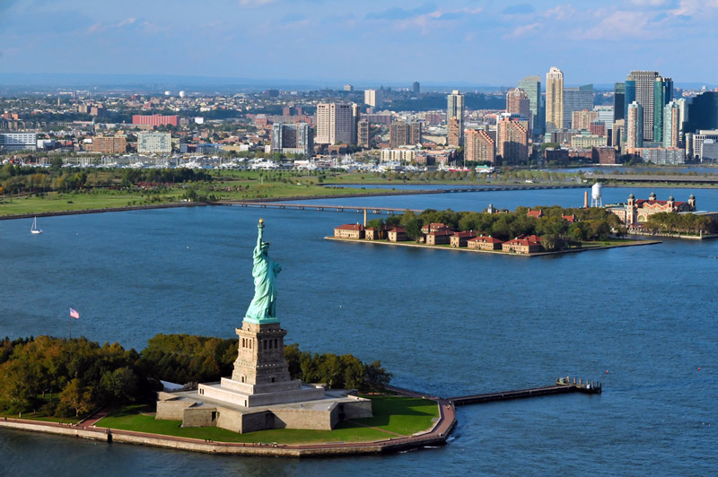 statue of liberty national park in new york harbor
