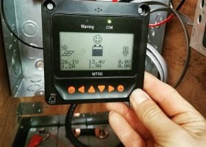 Installing A Battery Monitor In A DIY Campervan Conversion For Van Life