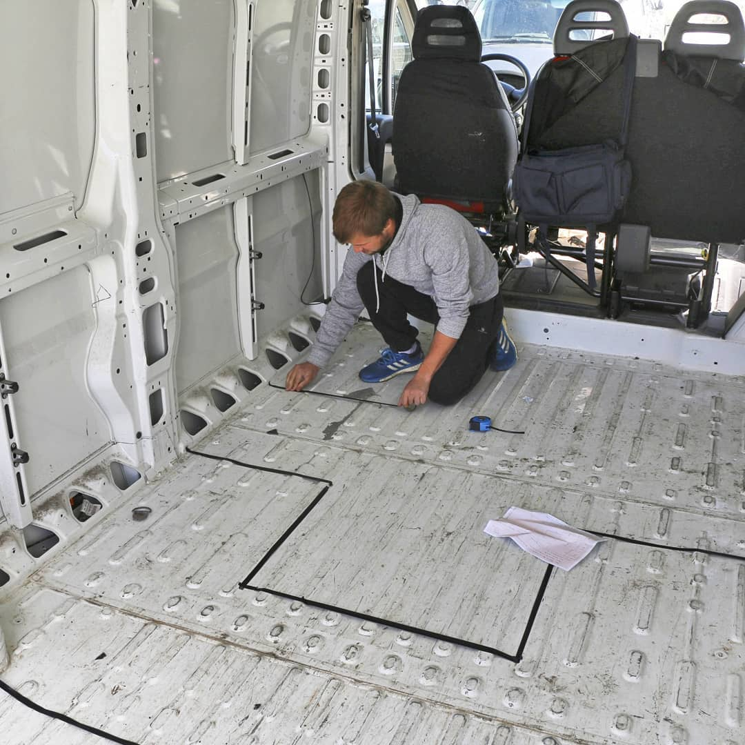 designing a campervan layout