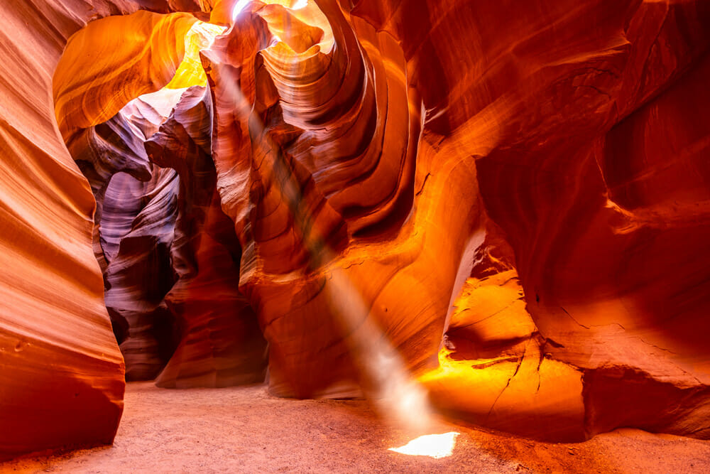 Touring Upper And Lower Antelope Canyon