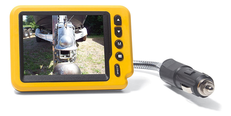 trailer hitch ball camera