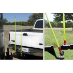 Trailer hitch guides