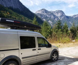 Going On An Adventure To The Mountains In A Ford Transit Connect