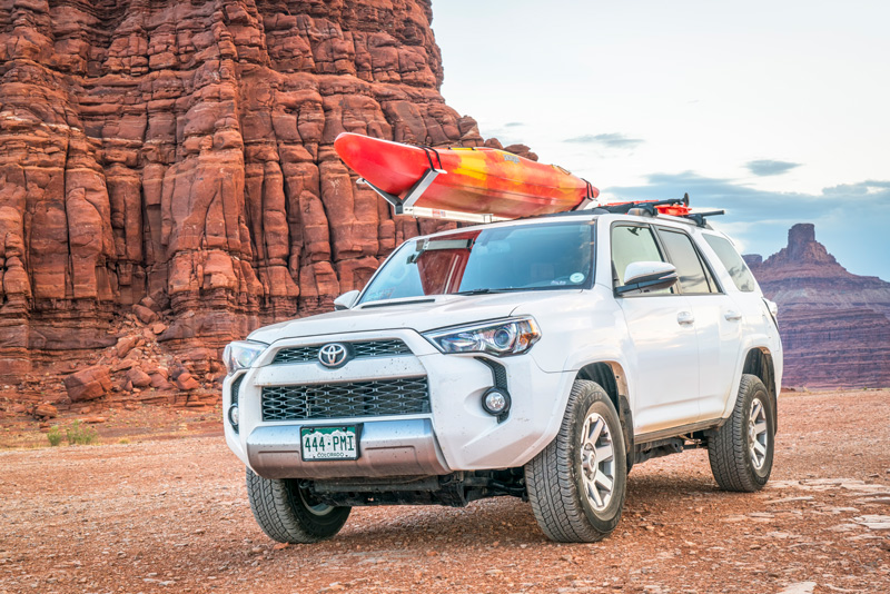 Travel With A Kayak Roof Rack
