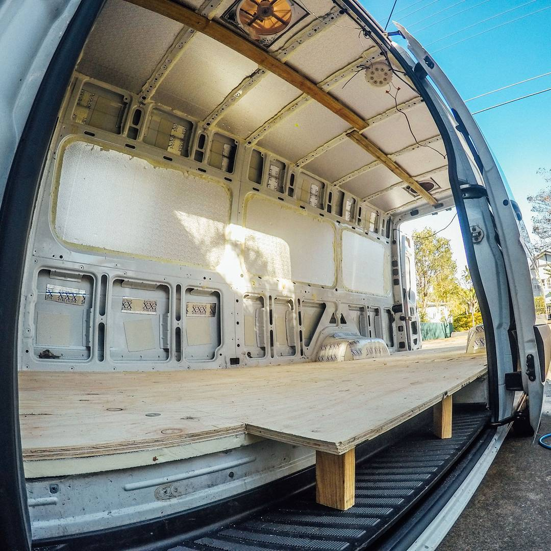 Installing Van Insulation In A Sprinter Van Conversion
