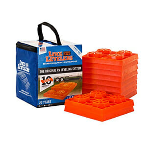 interlocking camper leveling blocks