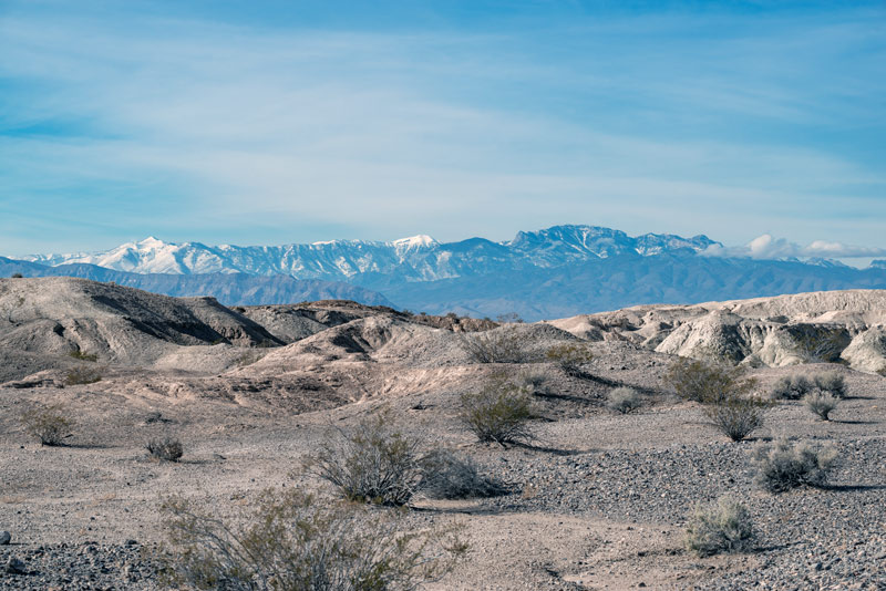 tule springs fossil beds national park in nevada