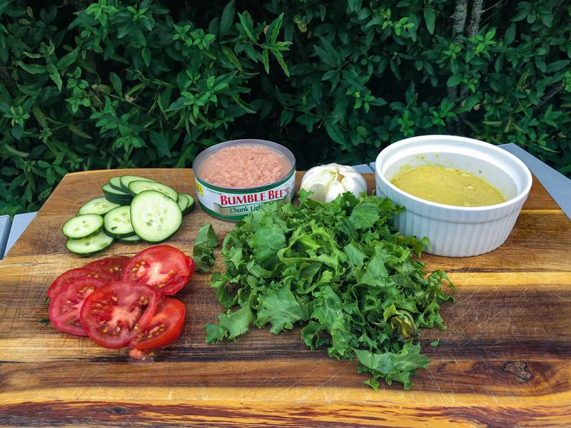 easy camping tuna salad recipe