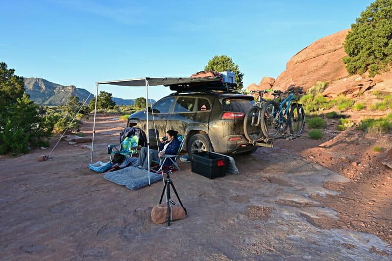 car camping at the north rim grand canyon tuweep campground