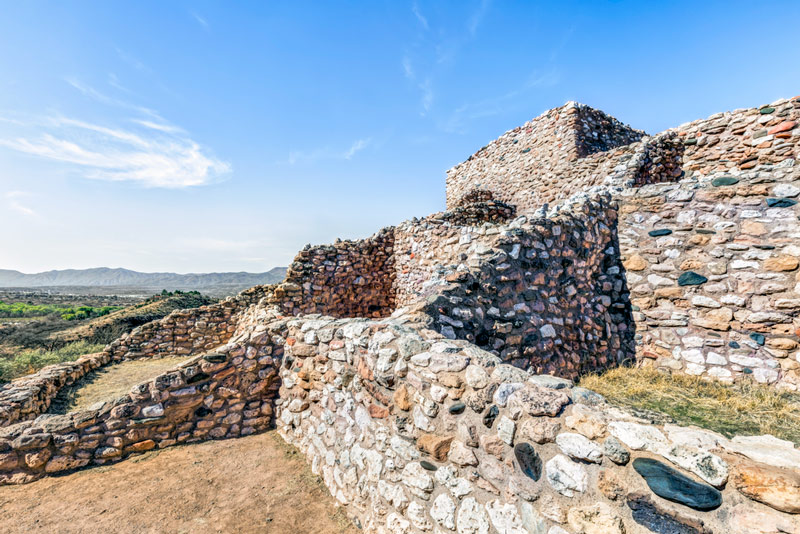 Tuzigoot ruins national monument in arizona