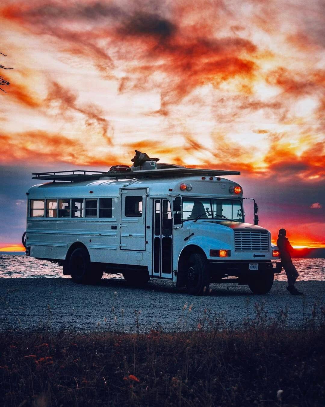 skooli bus conversion interior design