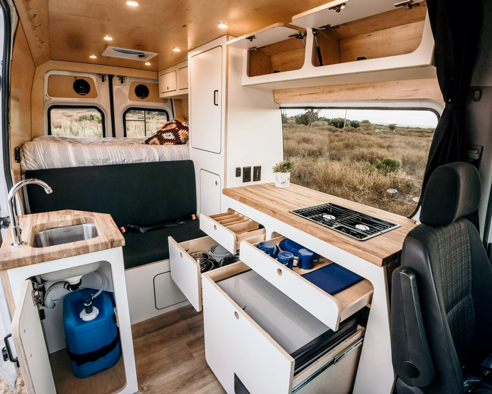 van craft camper van conversion company in california
