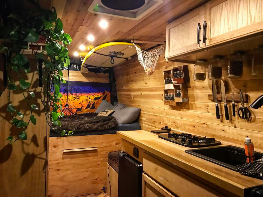 Creative Vanlife Kitchen Setups Parked In Paradise
