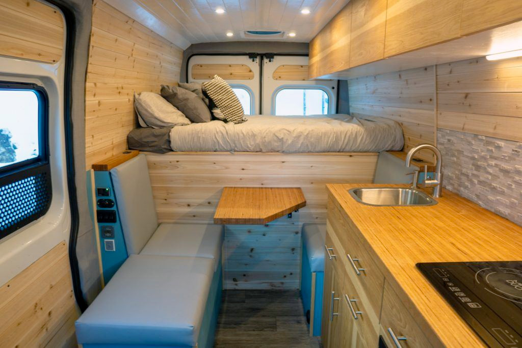 vertical van builds camper van upfitter in utah