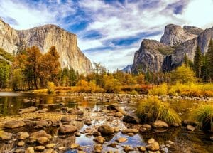 Visiting Yosemite National Park In The Fall Is One Of The Best Times To Year
