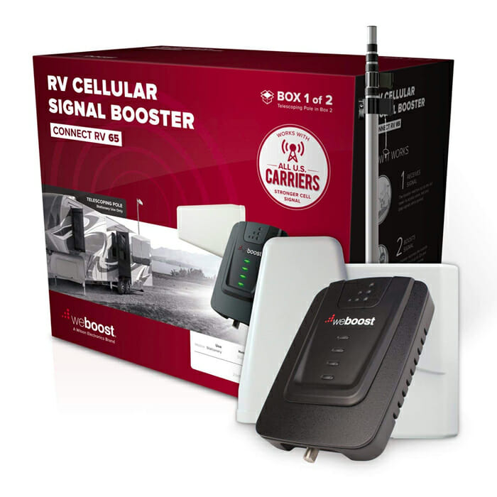 weBoost connect RV 65 cell phone signal booster