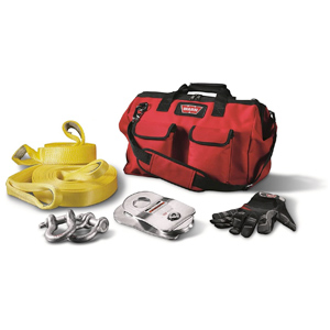 accessory kit for portable winches