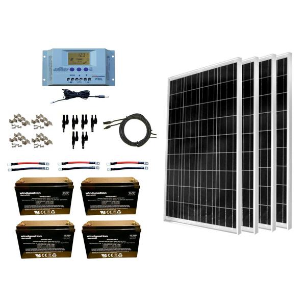 installing a solar panel kit on an rv