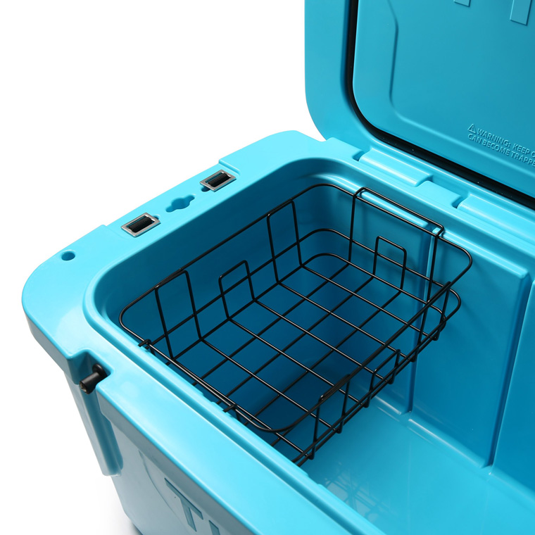 Camping cooler wire basket