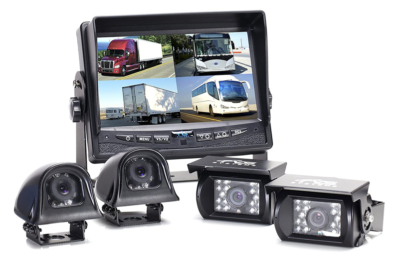 wired camper backup camera for travel trailers and rv
