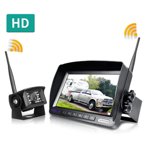 best wireless backup camera for travel trailer and rv