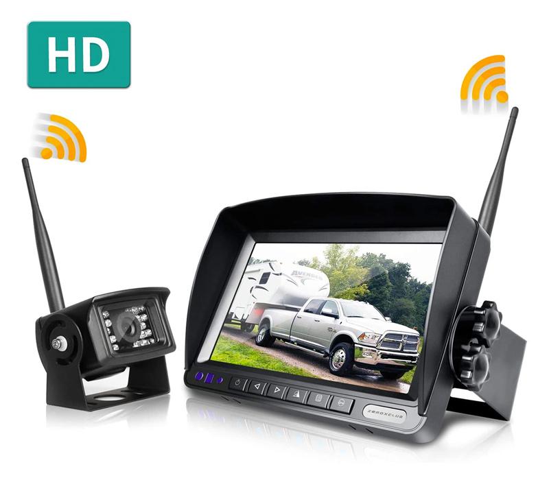 Wireless RV rearview camera