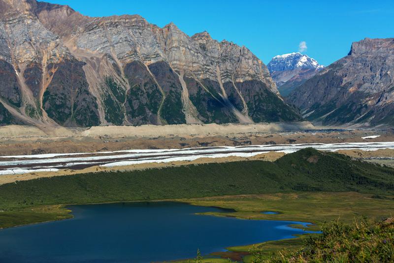 Wrangell-St. Elias National Park in Alaska