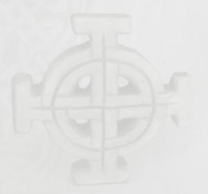 Small Celtic Stone Cross