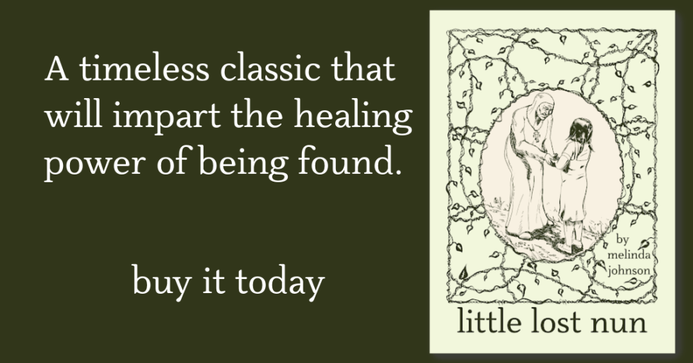 A timeless classic that will impart the healing power of being found. Buy it today. Book Cover of Little Lost Nun