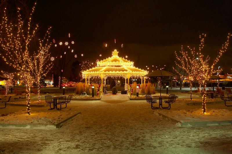 Mayors Tree Lighting Gazebo O'Brien Park