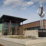 Parker Police Department eagle sculpture town of parker co