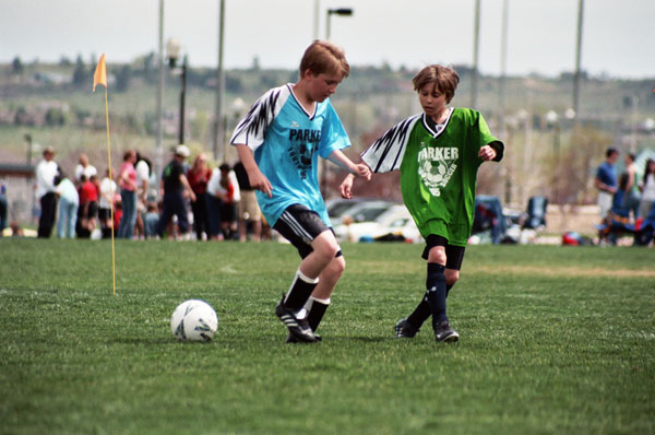 Spring Soccer with the parker recreation center parker co
