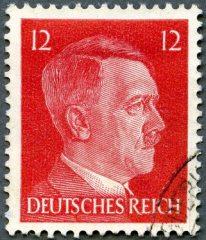 GERMAN REICH - 1940's: shows Adolf Hitler (1889-1945)