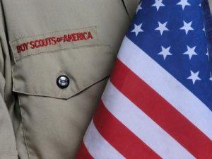 Boy scout Uniform & US Flag