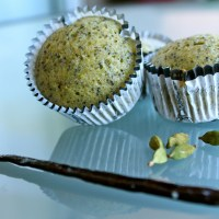 Pistachio and Poppy Seed Financiers