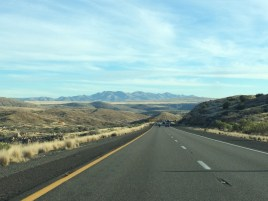View on I17 south