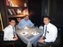 A wonderful dinner with Bishop Black