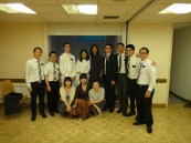 At ZhuYing's baptism.  Some of the chinese members and the chinese missionaries!