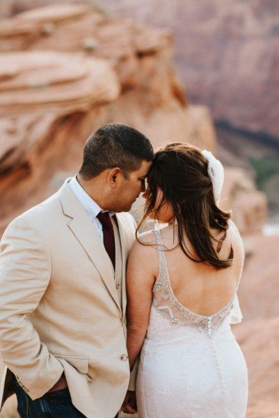Horseshoe Bend Wedding Couple